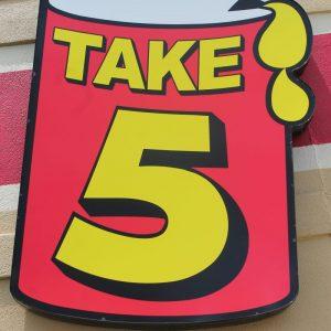 take 5 oil
