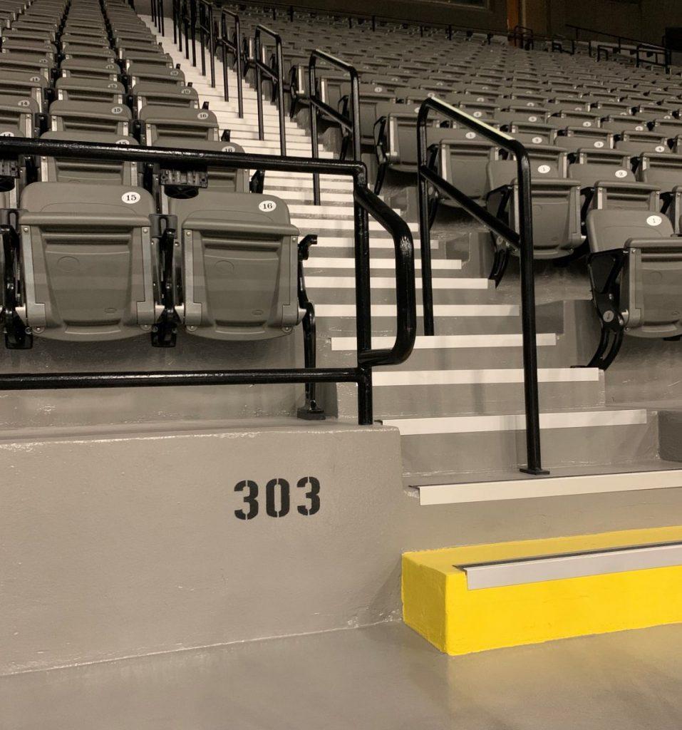 MS Coliseum renovations