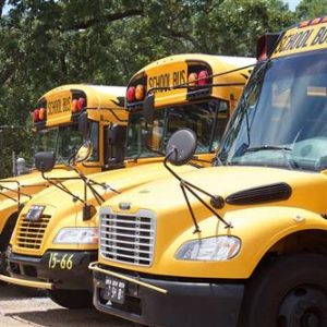 Clinton public school district busses