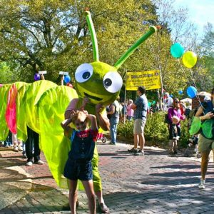 caterpillar parade in clinton mississippi