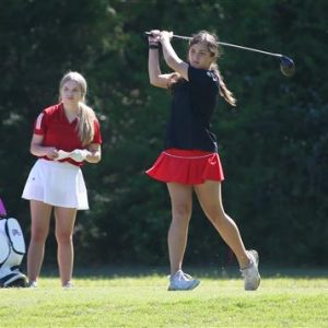Clinton High School Golfer Hits Long Drive