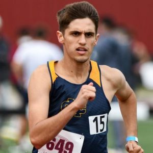 Gabe Poulin of Mississippi College Track and Field Runs at Flames Invitational