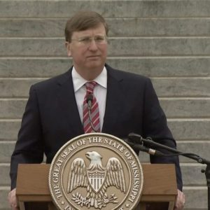 Tate Reeves speaking