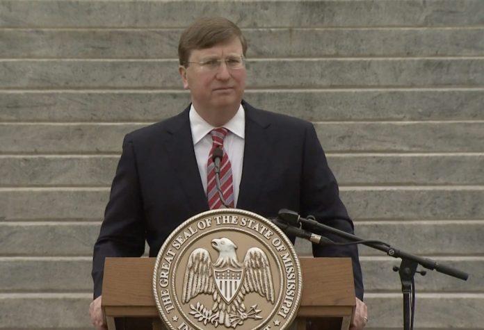 Tate Reeves speaking
