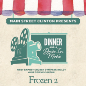Frozen 2 dinner and a movie