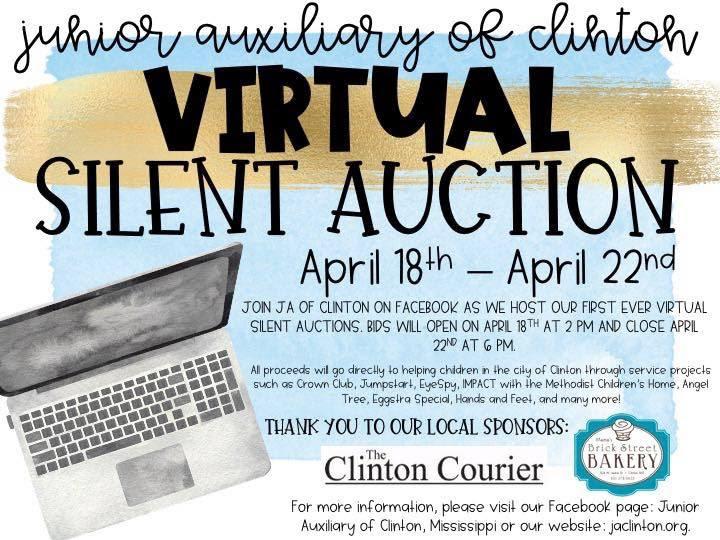 junior auxiliary of clinton virtual silent auction