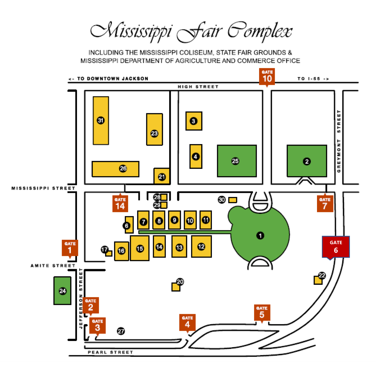 Mississippi fair grounds map