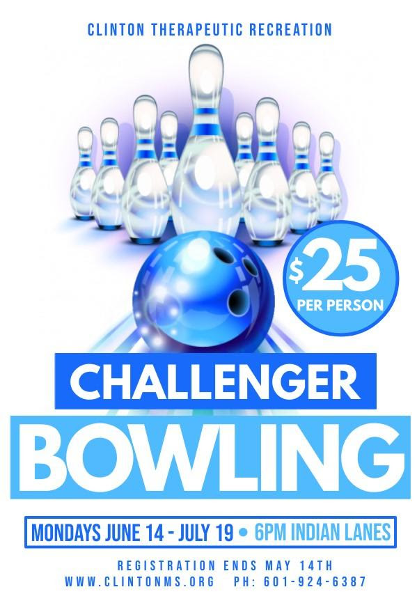 challenger bowling clinton mississippi