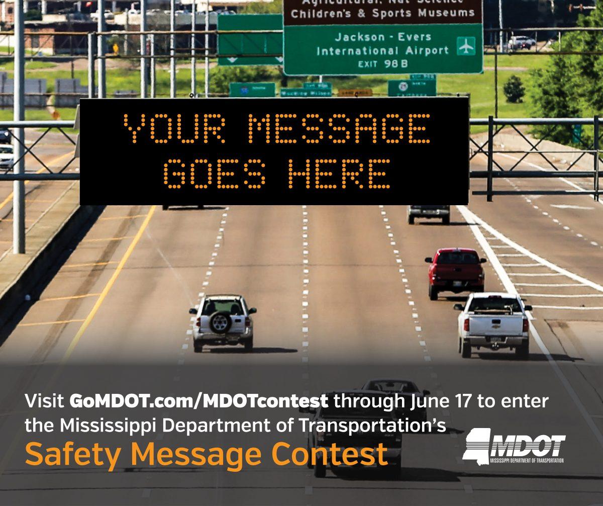 Mississippi highway department billboard message contest