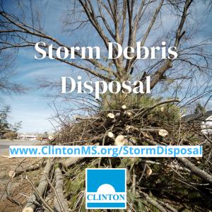storm debris removal clinton
