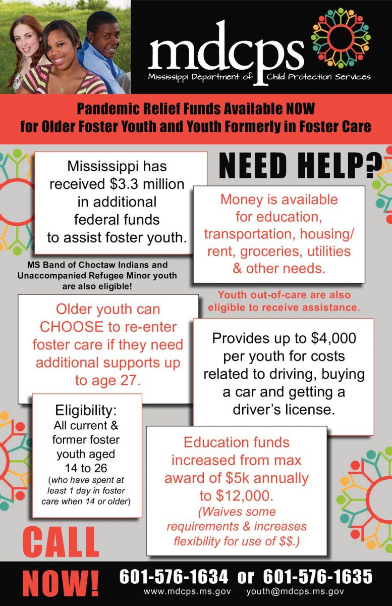 mdcps foster care grants