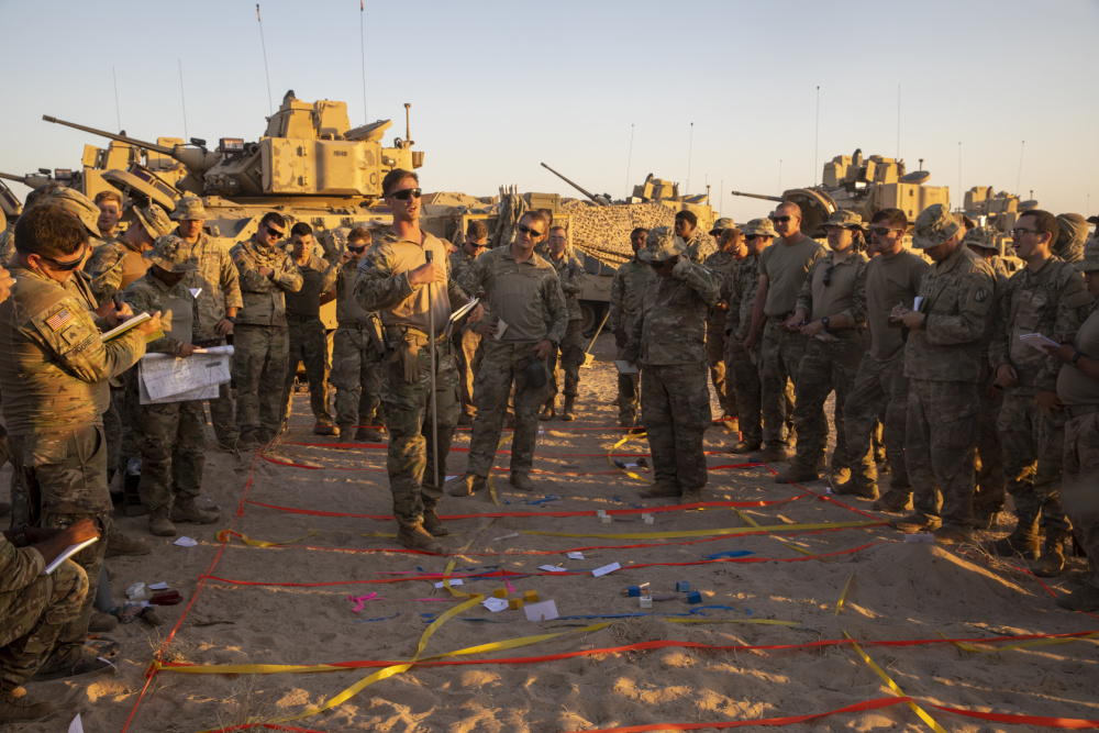 ms national guard at fort benning California