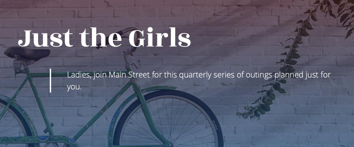 Main Street Clinton's just the girls