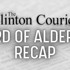 clinton ms board of alderman recap