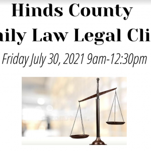 hinds county family law legal clinic