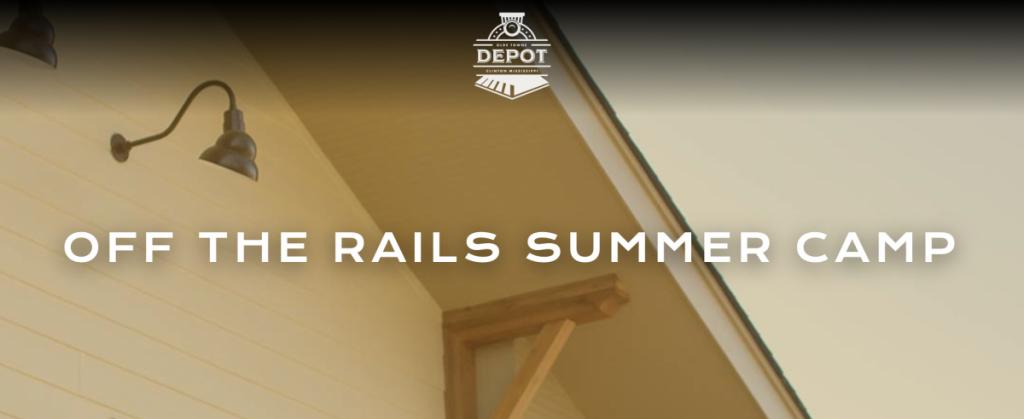 summer camp website header