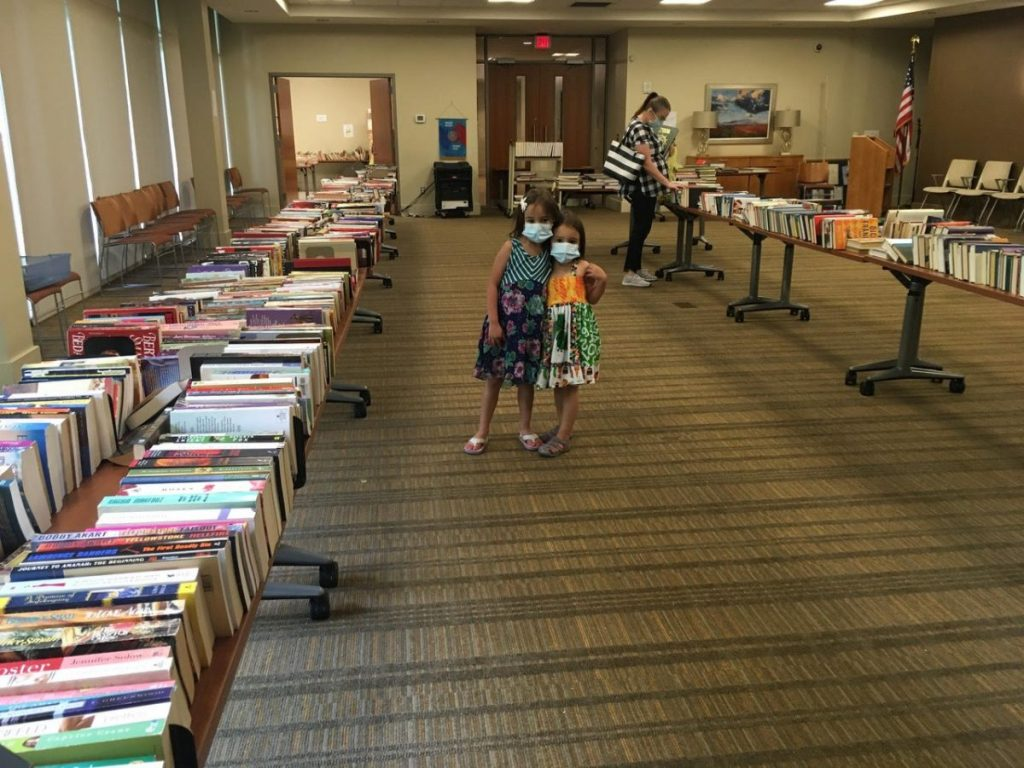 quisenberry library book sale