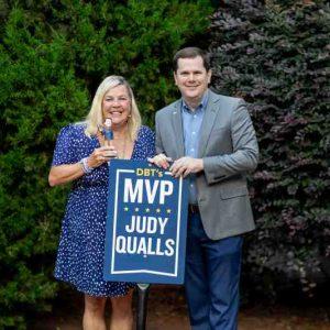 Judy Qualls Named Latest MVP