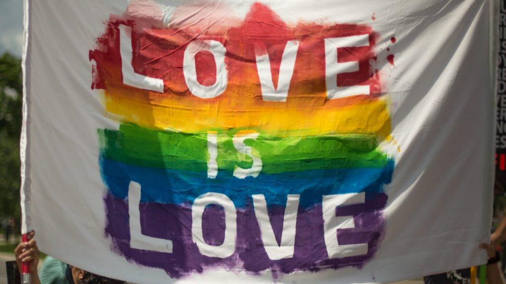 multicolored love is love