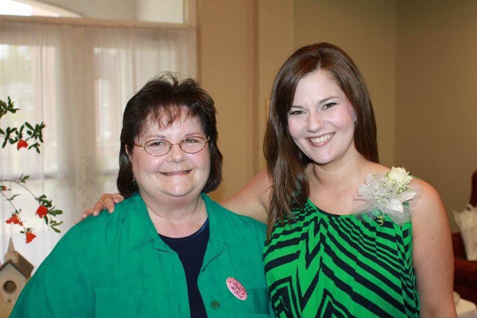 Megan Berry & Shirley Woodard