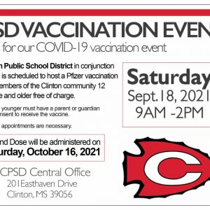 CPSD Vaccination event