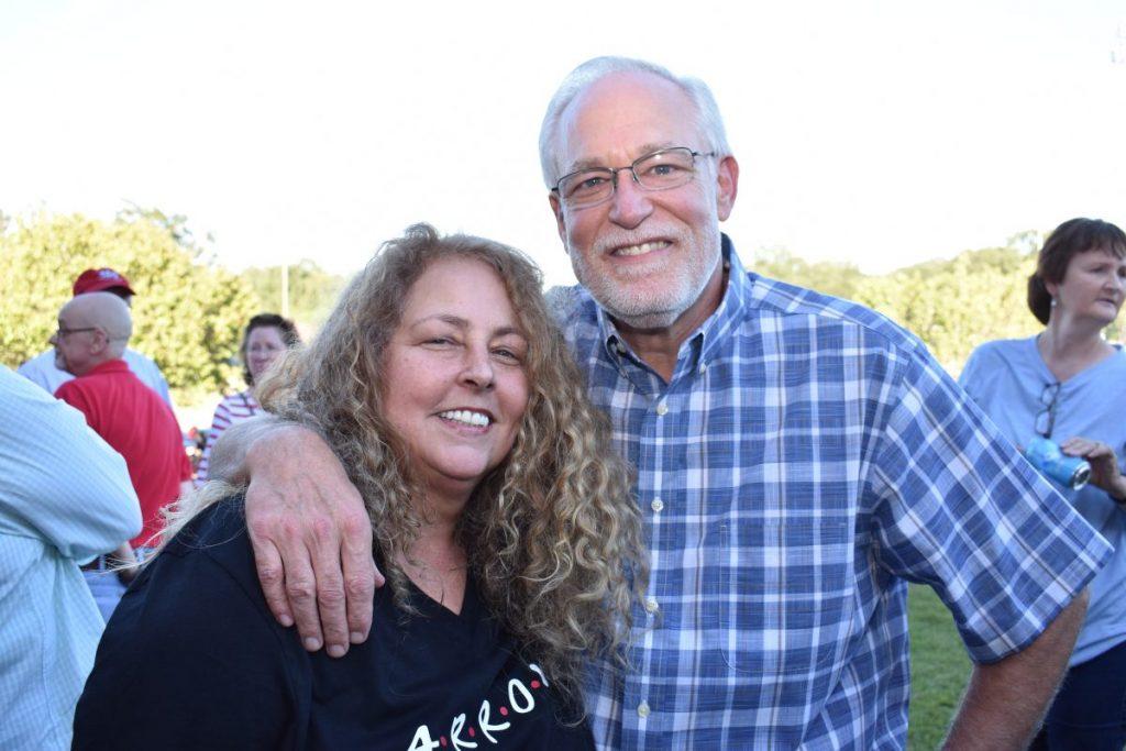 Beth Elliott '79 and Charlie Elliott '75