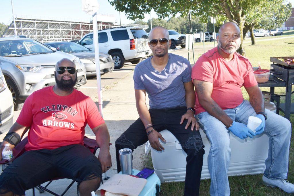 Orick Jones, Kenyatta Hopkins aka Hot Yatta, and Timothy Spann