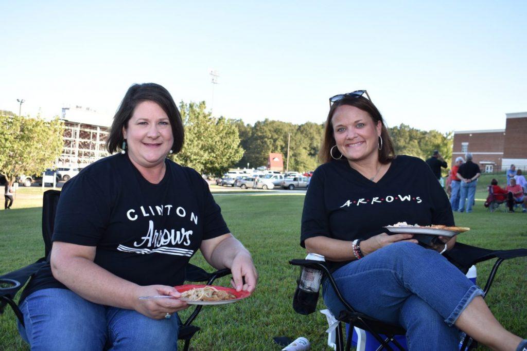Julie Wardlaw and Kimberly Hughes