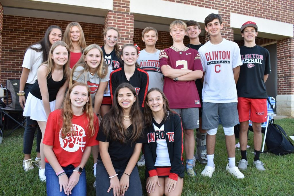 Pictured (l to r) are, front row: Kaytlin Brooks, Joey Culpepper and Emma Hughes; middle row: Caroline Allen, Sarah lake Thompson, AnnaBelle Mansell, Grayson Fortenberry, Parker Thames and Brody Zumbro; and back row: Macy Culpepper, Meredith Chandler, Maryevins Wardlaw, Ben Hughes and Hunter Cannon.