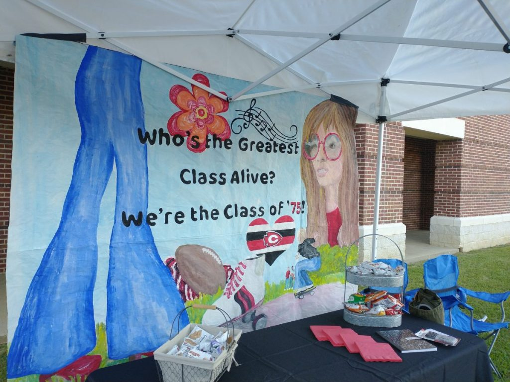 Class of '75 Tent